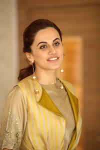 Actress Taapsee Latest Photos @ Neevevaro Movie Press Meet