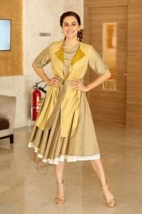 Actress Taapsee Pannu Latest Photos @ Neevevaro Press Meet