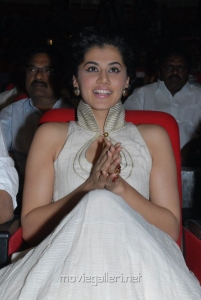 Tapsee Hot Photos At Shadow Audio Launch