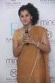 Actress Taapsee Launches Malabar Gold Platinum Collection Stills