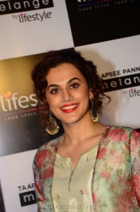 Actress Taapsee Pannu as Brand Ambassador of Melange by Lifestyle