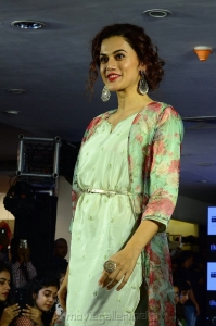 Taapsee at Lifestyle Festive Collection 2018 Launch, Hyderabad