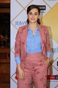 Actress Taapsee Pics @ NBT Utsav Awards 2019 Red Carpet