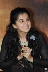 Tapasee Pannu Beautiful Photos @ Sahasam Success Meet