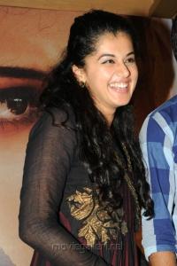 Actress Taapsee at 'Sahasam' Success Meet