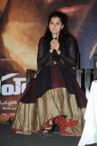 Sahasam Heroine Taapsee at Movie's Success Meet