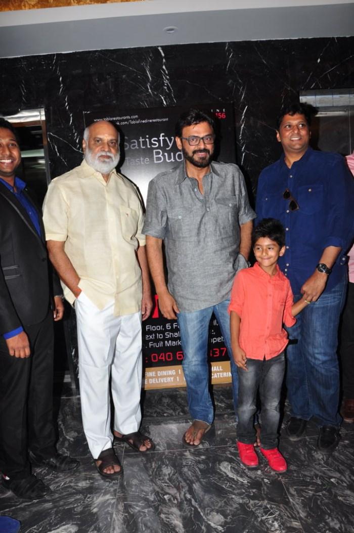 K Raghavendra Rao, Venkatesh @ Tabla Restaurant launch at Kothapet, Hyderabad