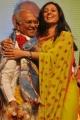 Actress Tabu with Akkineni Nageswara Rao