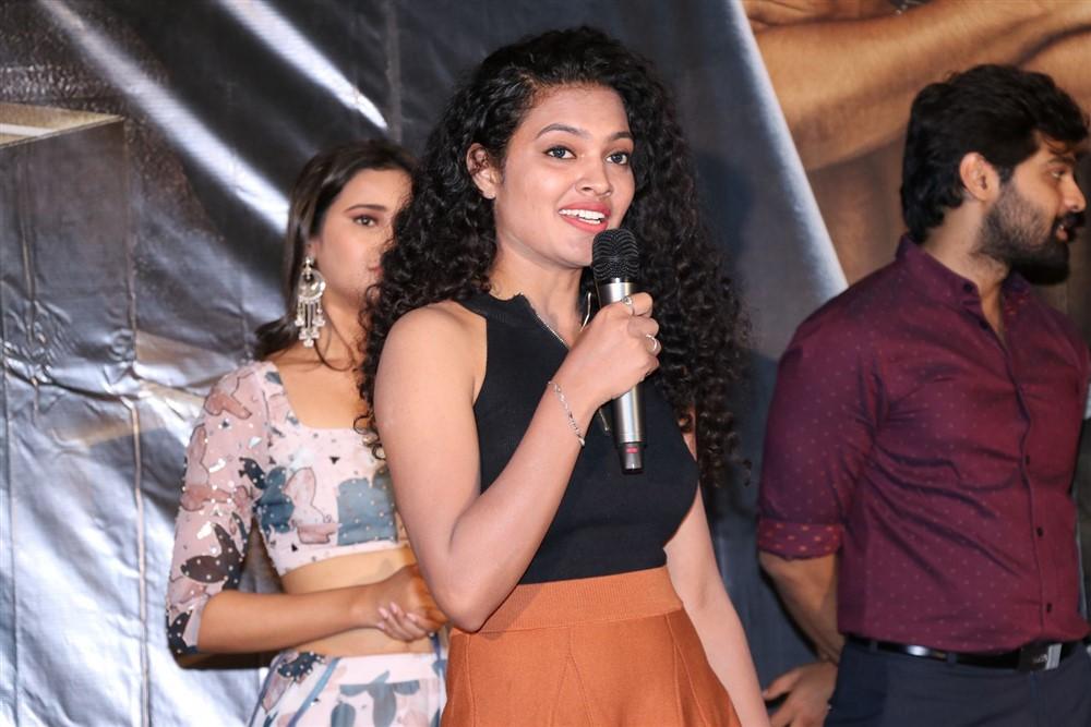 Actress Riya @ Tagite Tandana First Look Launch Stills