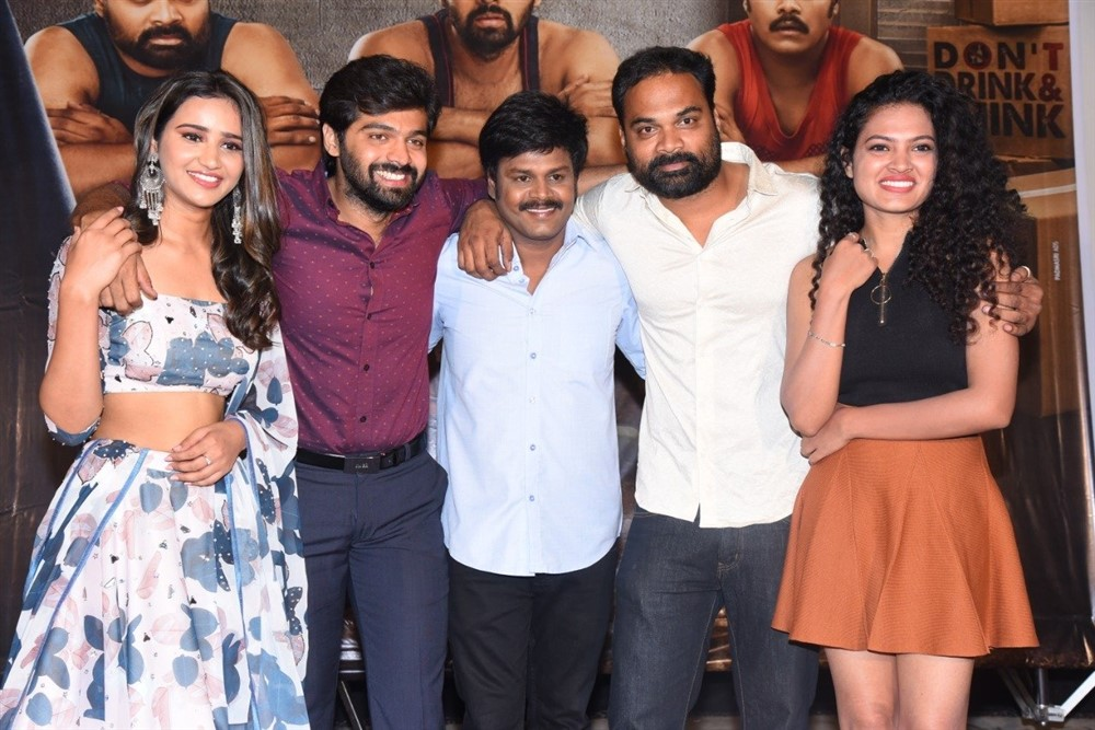 Simran Gupta, Adith, Saptagiri, Madhunandan, Riya @ Tagite Tandana First Look Launch Stills