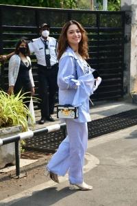 Actress Tamanna Bhatia New Photos at Kalina Airport Mumbai