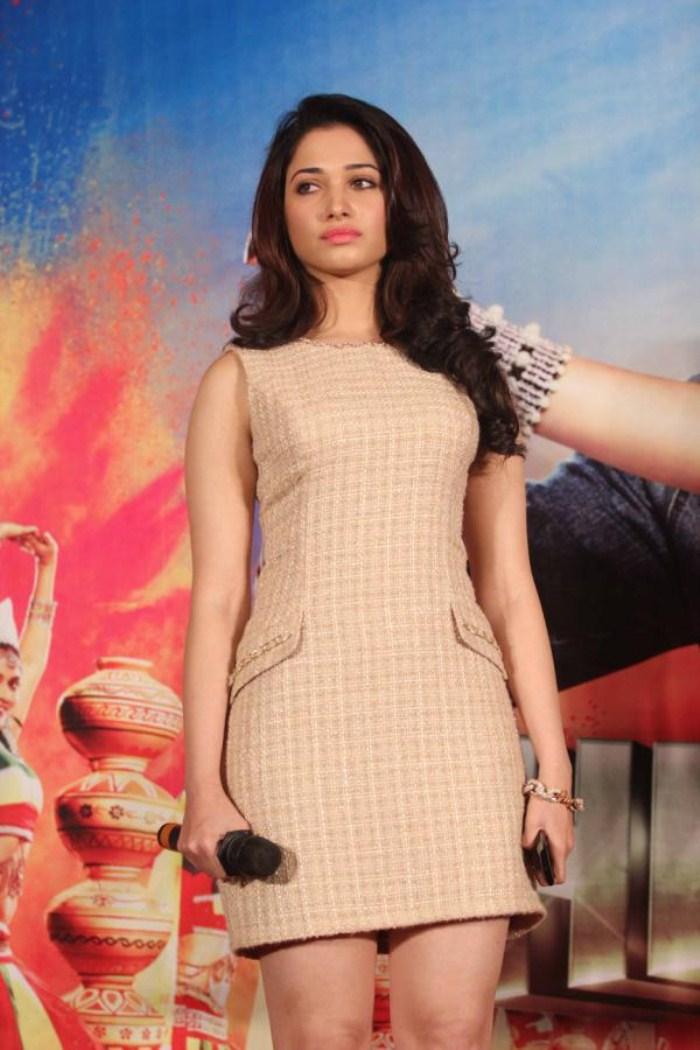 Actress Tamanna Bhatia Pictures at Himmatwala Trailer Release ...