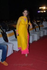 Telugu Actress Tamanna Cute Pictures in Yellow Churidar