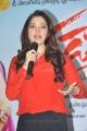 Tamanna in Red Dress at Tadakha Press Meet