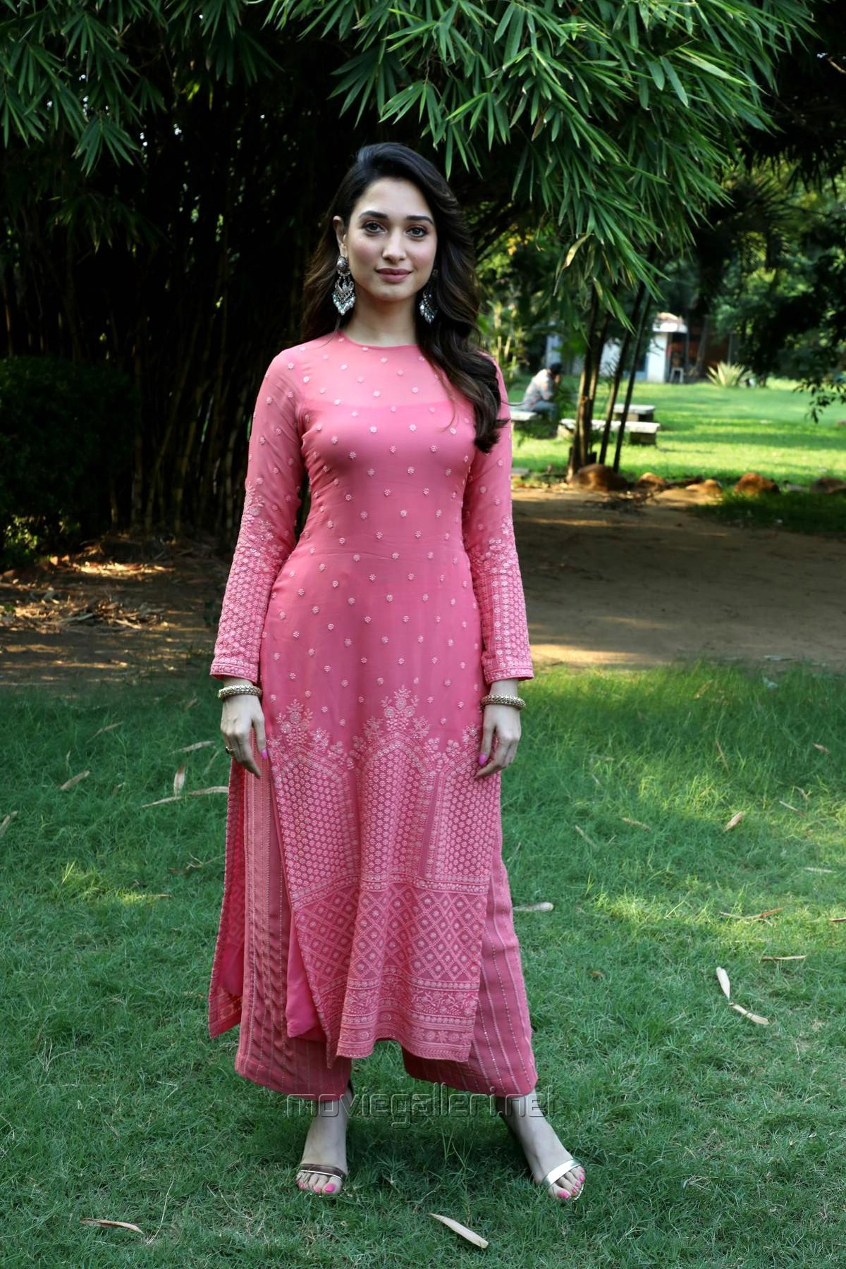 Actress Tamanna Bhatia Beautiful Photos @ Petromax Movie Press Meet