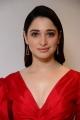 Actress Tamannaah Red Dress Pictures @ Gurthundha Seethakalam Press Meet