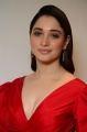 Actress Tamannaah Red Dress Pictures @ Gurthundha Seethakalam Press Meet