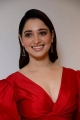 Actress Tamanna Red Dress Pictures @ Gurthundha Seethakalam Press Meet