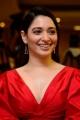 Actress Tamanna Red Dress Pictures @ Gurthundha Seethakalam Press Meet