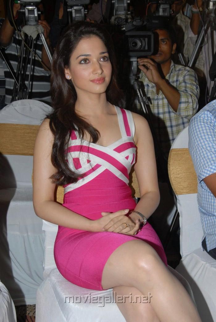 Hot Tamanna Photos at Rebel Movie Trailer Launch