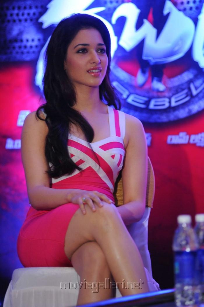 Actress Tamanna at Rebel Trailer Launch Stills