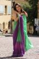 Tamanna Saree Photos in Oosaravelli