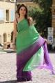 Tamanna Hot in Green Saree Pics