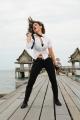Actress Tamanna Hot in Rebel Movie Stills