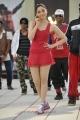 Racha Tamanna in Hot Mini Red Skirt