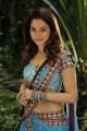 Tamanna Hot Half Saree Photos in Racha