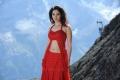 Actress Tamanna Bhatia Hot Red Dress Wallpapers