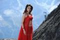 Actress Tamannaah Hot Red Dress Wallpapers