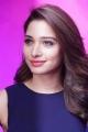 Telugu Actress Tamannaah in Blue Frock Photos