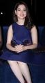 Actress Tamannaah Bhatia in Blue Frock Photos