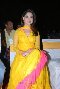 Actress Tamanna New Cute Photos in Yellow Salwar Kameez