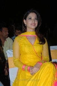 Milky Beauty Tamanna Bhatia Cute Photos in Yellow Salwar Kameez