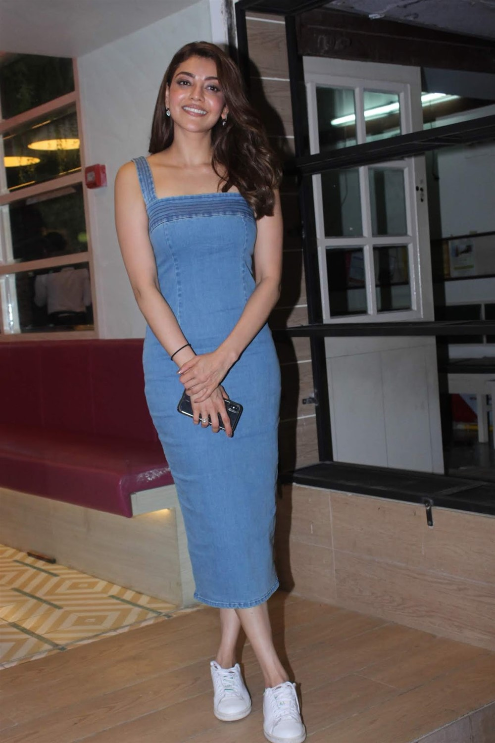 Actress Kajal Agarwal @ Queen Remake Movie Discussion