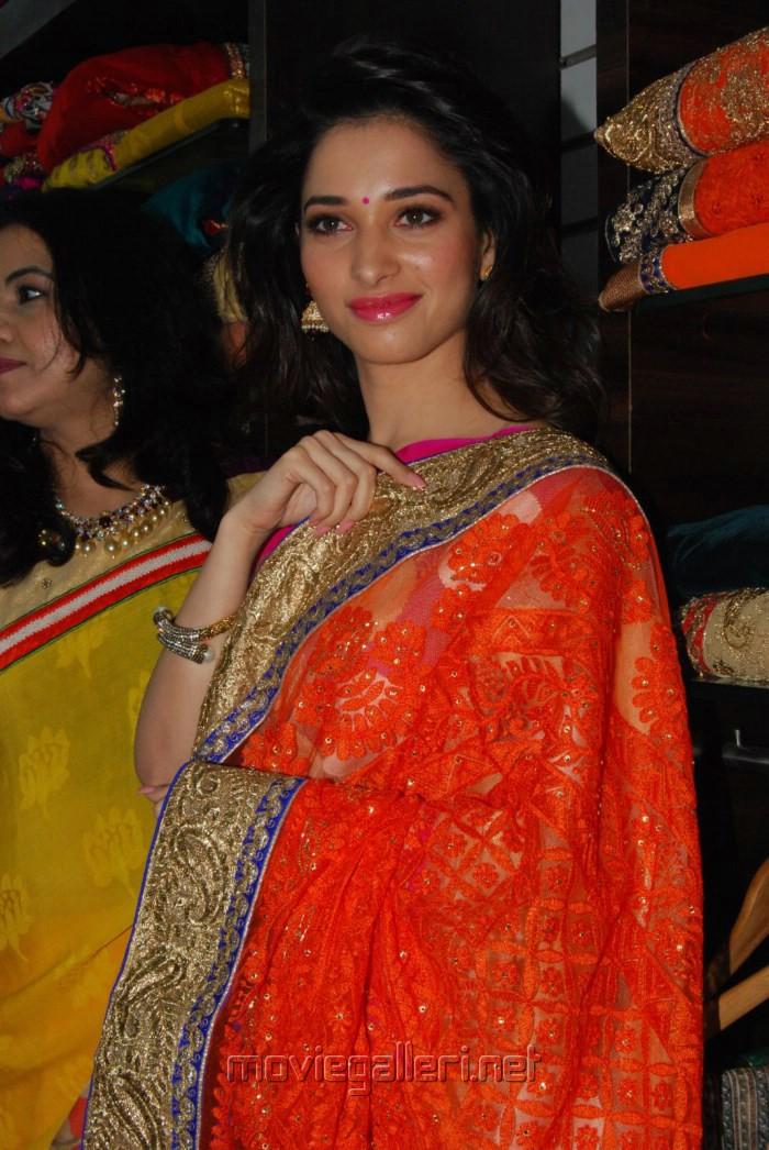 Actress Tamanna Bhatia launches Trisha Boutique @ Hyderabad Photos