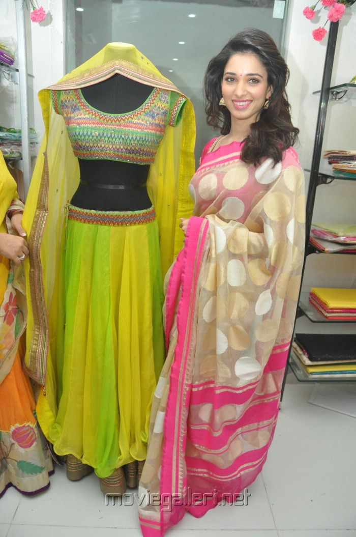 Actress Tamanna Bhatia launches Trisha Boutique @ Hyderabad Photos