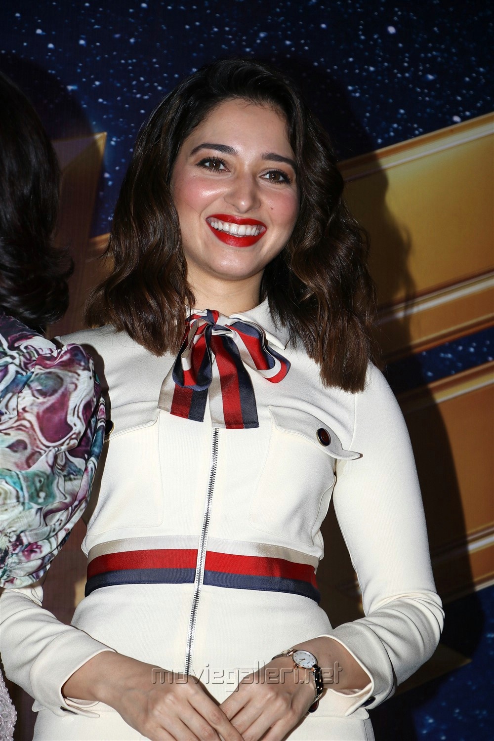 Actress Tamannaah Photos @ Captain Marvel Press Meet