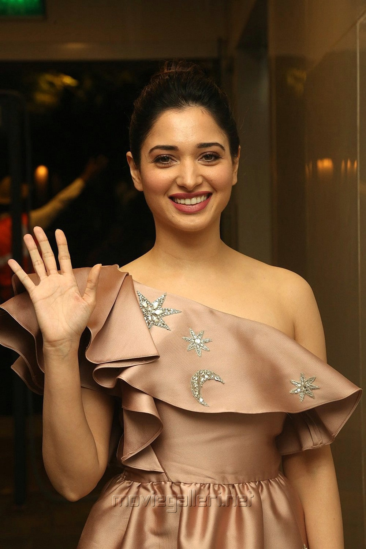 Actress Tamanna Cute Photos @ F2 Fun & Frustration Press Meet
