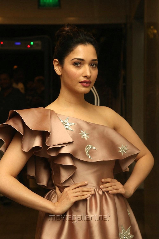 Actress Tamannaah Photos @ F2 Movie Press Meet