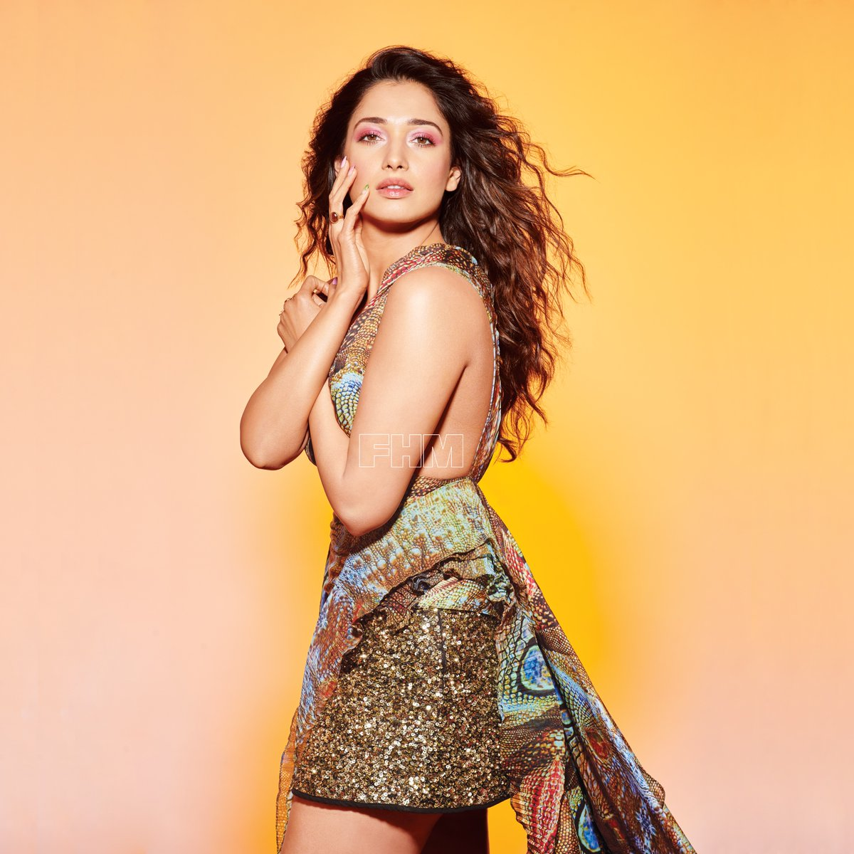 Actress Tamanna Photoshoot for FHM Magazine July 2019 Issue