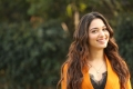 Actress Tamanna in Dark Orange Suit Pics