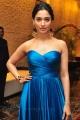 Actress Tamannaah Bhatia Hot Stills in Blue Long Dress