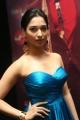 Actress Tamanna Stills in Blue Long Dress