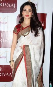 Tamannaah Bhatia as brand ambassador of Joh Rivaaj Saree brand