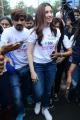 Actress Tamanna flags off Pink Ribbon Walk at KBR Park Photos