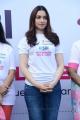 Actress Tamanna at Pink Ribbon Breast Cancer Awareness Walk 2017 at KBR Park