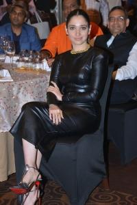 MasterChef Host Tamannaah Black Dress Photos